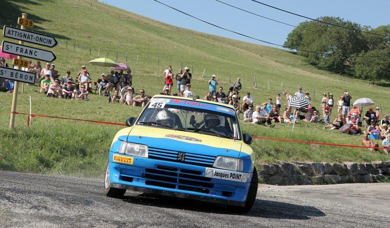 Laurent Perenon - Marie Laure Perenon - Peugeot 205 Maxi F214