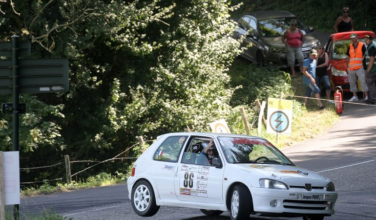 Gérard Montagnat - Pierre Sermoz - Peugeot 106 s16 FA6