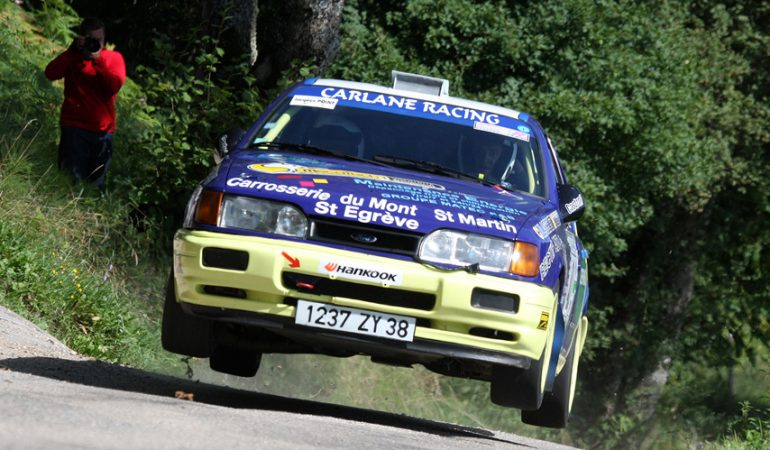 Guillaume Eymard - Ford Sierra Cosworth FA8