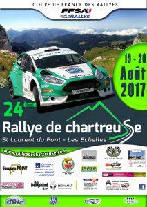 Affiche rallye de Chartreuse 2017